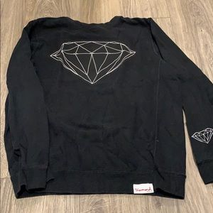 Black Diamond Crew Neck